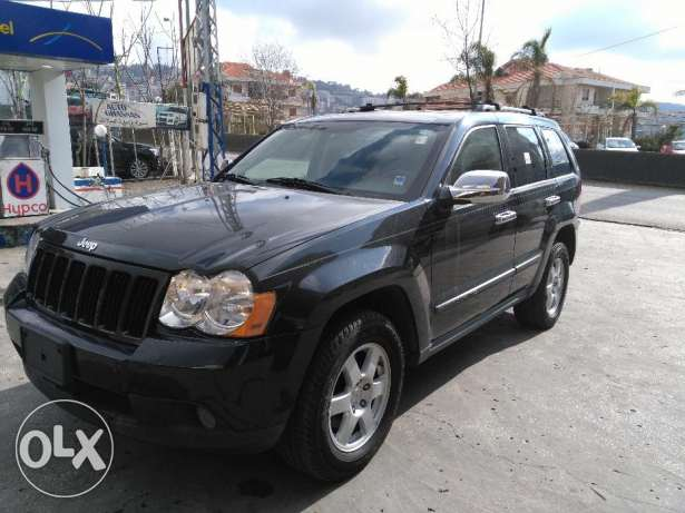 jeep grand chirockee 2008 full option clean carfax