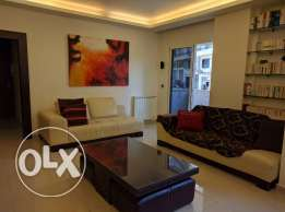 Fully furnished 100 sqm apartment in a very calm area in Mar Mkhayel