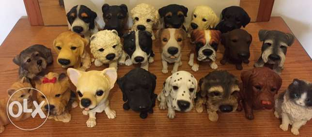 dog pets resin 20cm size 15 000 pcs available