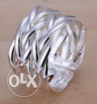 silver platet ring