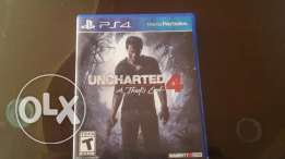 CD PS4 UNCHARTED video games