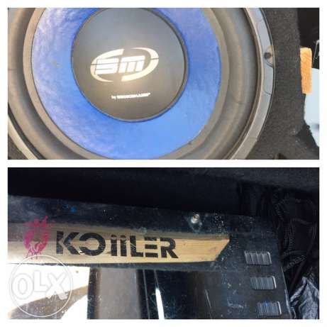 for sale sound system مصطبة -  1