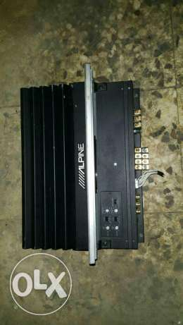 Amplifier original Alpine 50 w x 4 channel