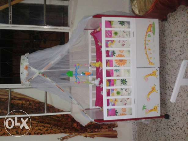 Bebe bed for boy or girl