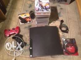 ps3 + 17 games + playstationEye with 1 game