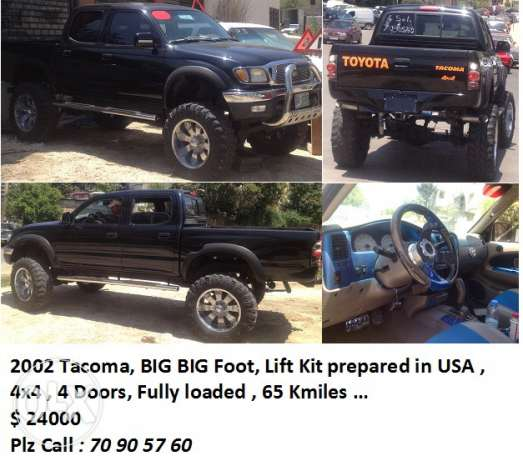 Toyota TACOMA BIG FOOT very special truck