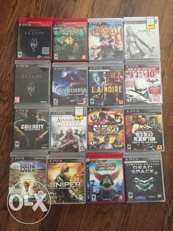 ps3 games Original $10 each