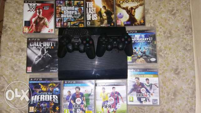 Ps3 500g + 10cd + cam