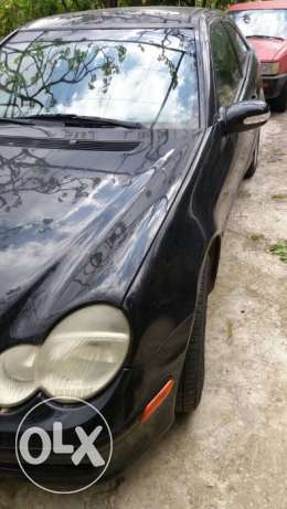 Mercedes C230 model 2003 black, excellent conditions