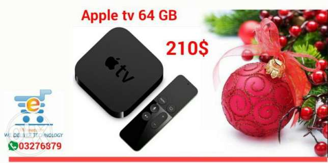 Apple TV 2 4 TH gen 32 and 64 gb .