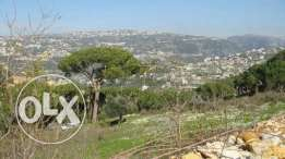 Land for sale in Bikfaya