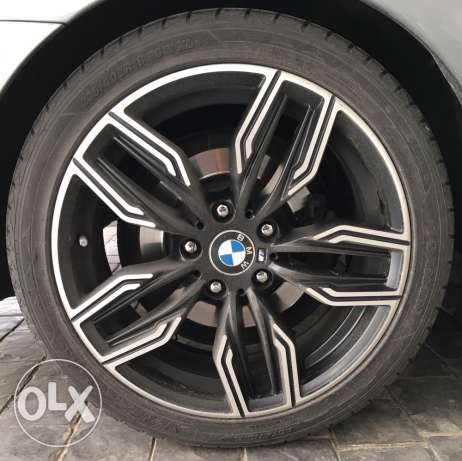 "Rims 18"" + tires for sale"