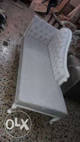 Bride wedding sofa