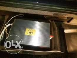Power & bazzoukka 1600watt pioneer