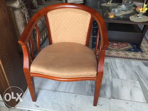 2 Chairs and a Small Round Table