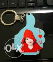 Customised like keychain