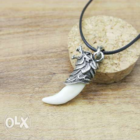 Wolf Tooth Necklace & pendants Domineering Courage الدورة -  2