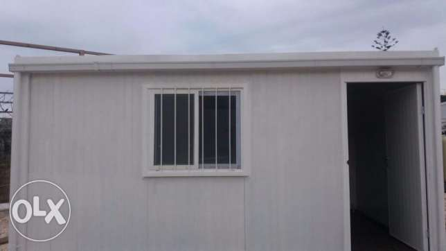 prefabricated portacabin office 15m2 (5mx3m)بيت جاهز