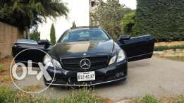 E350 Coupé Ra2i3a men ne7yit Ljamel we Nadafé