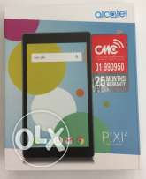 alcatel tablet only wifi with 25 months warranty.