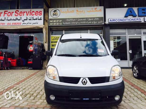 2009 Renault Kangoo 1.2 16V White Color