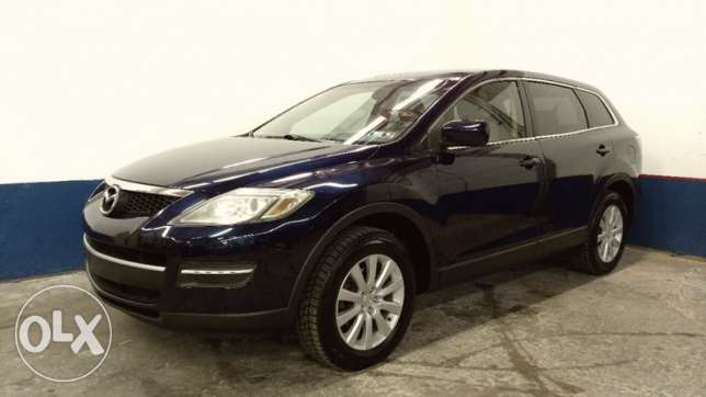 Mazda cx9 mod 2009 black leather black full options clean car