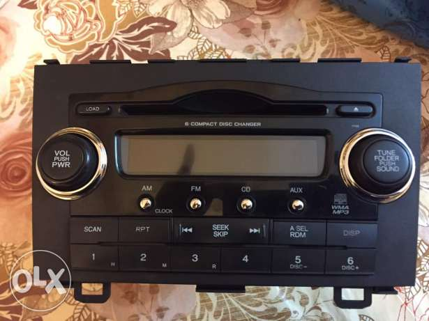 Original Honda radio to CR-V 2010