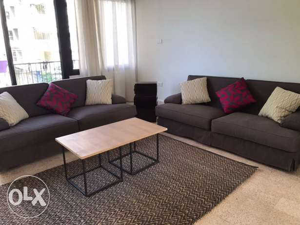 A fully furnished 150 SQM apartment in a calm area of Mar Mikhael