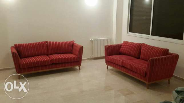 Sofa saloon excellent quality (×2)