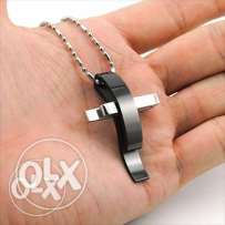 Stainless steel Cross pendant chain necklace (3 pictures) We deliver