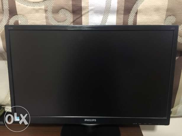 computer monitor 22 inch led philips