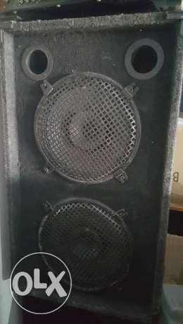 2 speakers Box