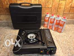 outdoor gas stove for camping and hunting