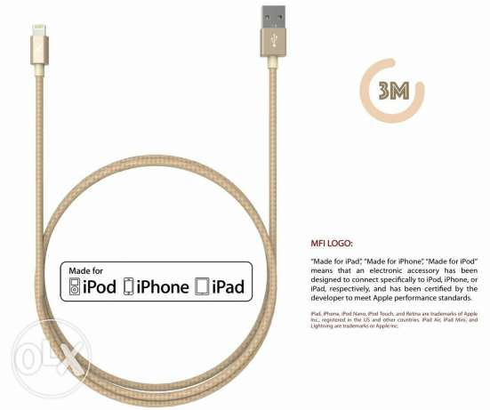 2 and 3 meters data cable for iphone
