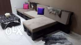 For sale salon palettes furniture