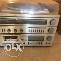 70s pickup cassette and radio - CROWN