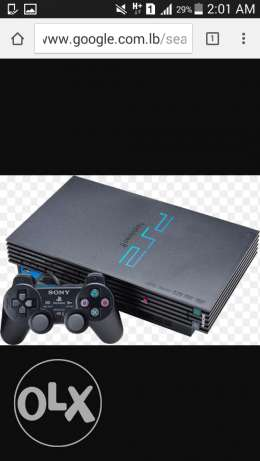 2 ps2 used but still new with 5 controlers and 30 games