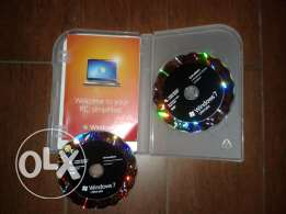 windows 7 ultimate original double dvds 32 & 64 bits
