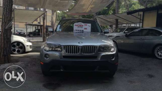 BMW X3 3.0L OSI grey 2008
