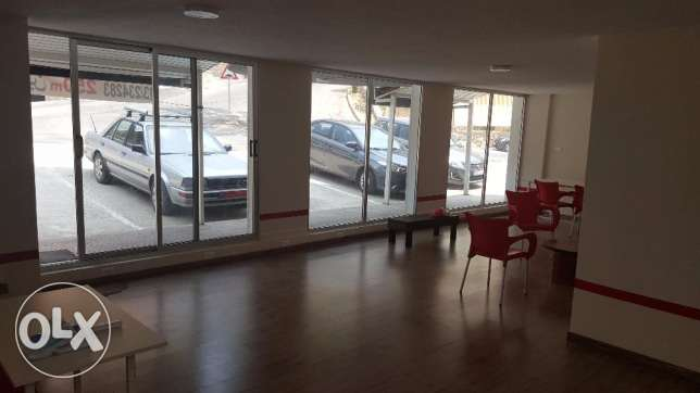 250 meters commercial for rent in Fanar, Metn. 2 floors 2 entrances.