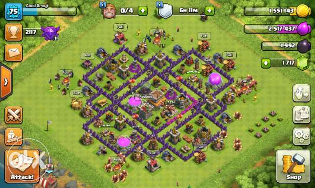 Town Hall 8 max