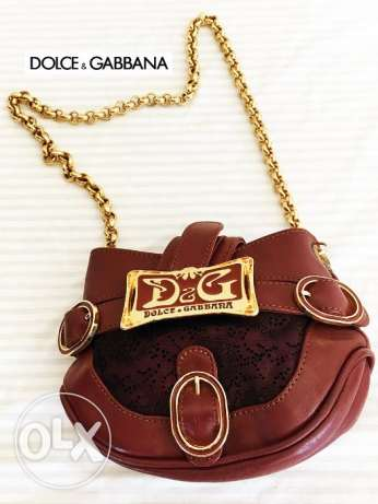 Pre owned DOLCE GABBANA Hand bag C035