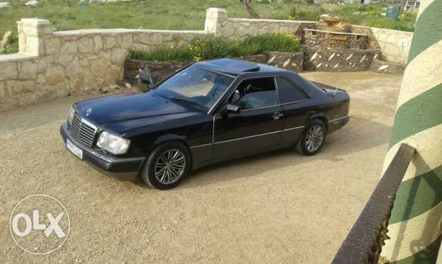 mercedes-benz coupe model 1991
