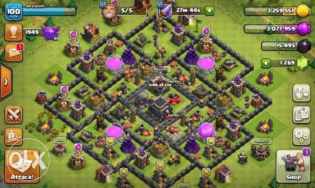 Account Clash of clan