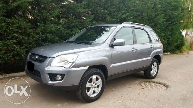 Sportage 2009 4WD perfect condition شركة لبنان