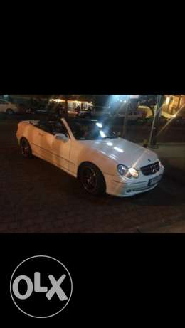 Mercedes-Benz CLK 320 white Convertible
