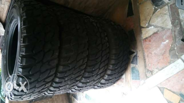 4 dwalib jded lal jeep off road 245/75/R16