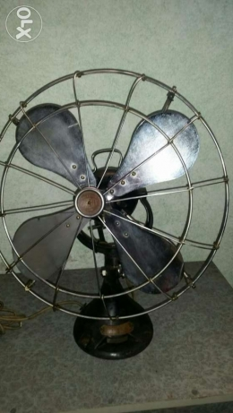 Antigue Very old fan (orbit)made in england 1930 انطلياس -  4