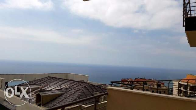 160 m2 apartment for sale in New Halat having 100m2 terrace and garden