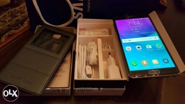 Note 4 [sale or trade]